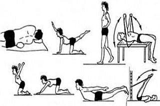При самостоятельных упражнениях важна постепенность